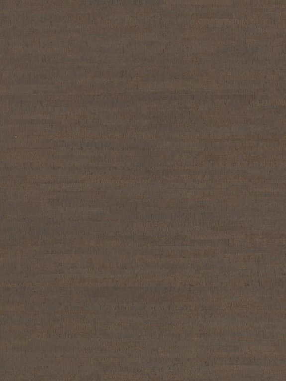 Korkboden braun/dunkelbraun Flächenbild