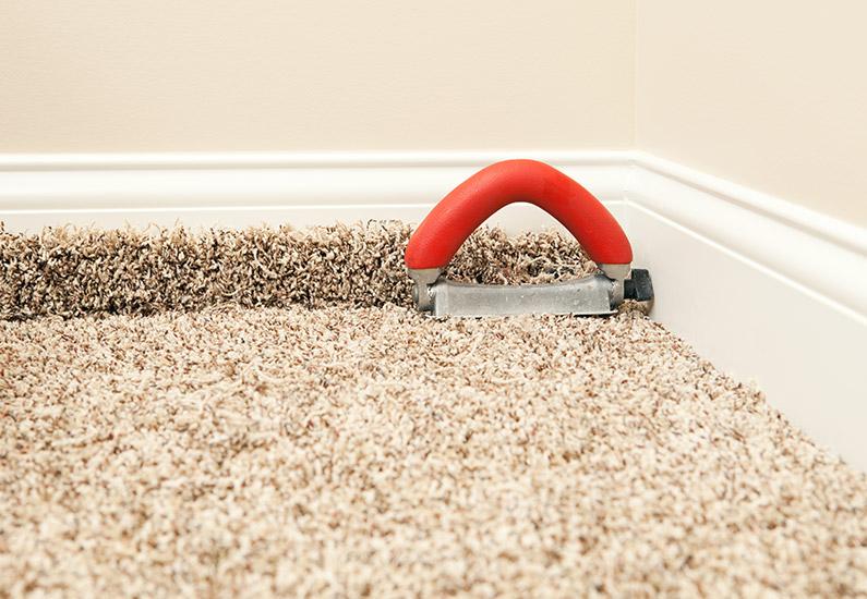 Vorbereitung Teppichboden