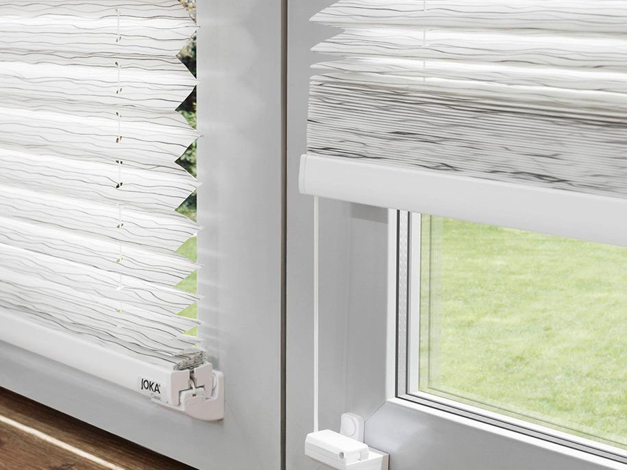 Plisees Fenster