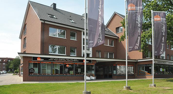 Außenansicht WohnStore Hamburg