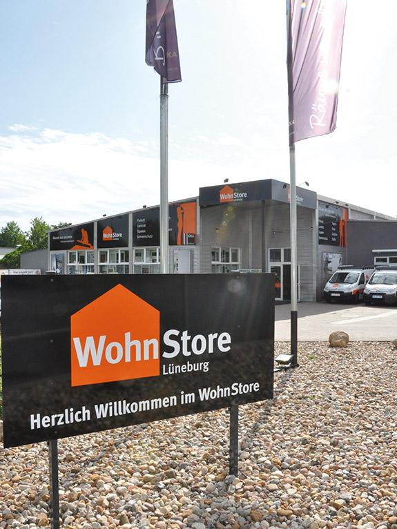 Schild WohnStore
