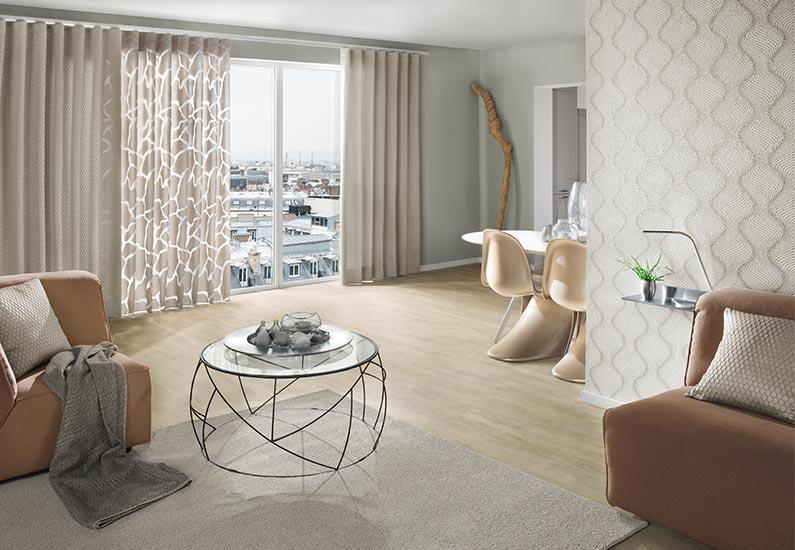 besche tapete inspiration wohnzimmer/esszimmer