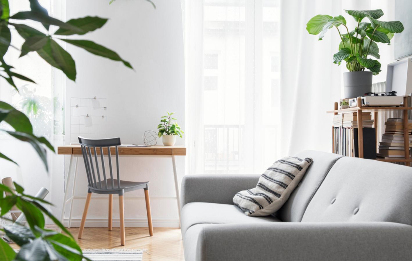 Einrichtung grau Wohnzimmer