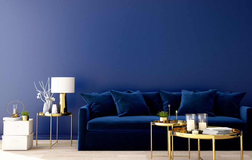 Einrichtung Classic Blue